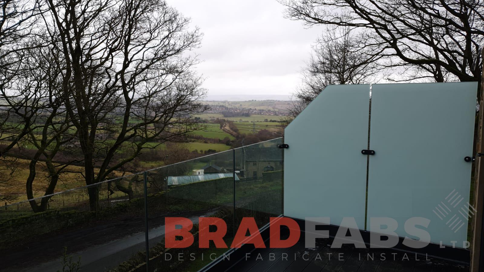 channel system infinity glass balustrade by Bradfabs