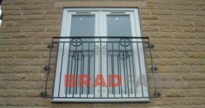 steel balconettes fabricated in bradford, juliet balcony fitted in apartments in west yorkshire