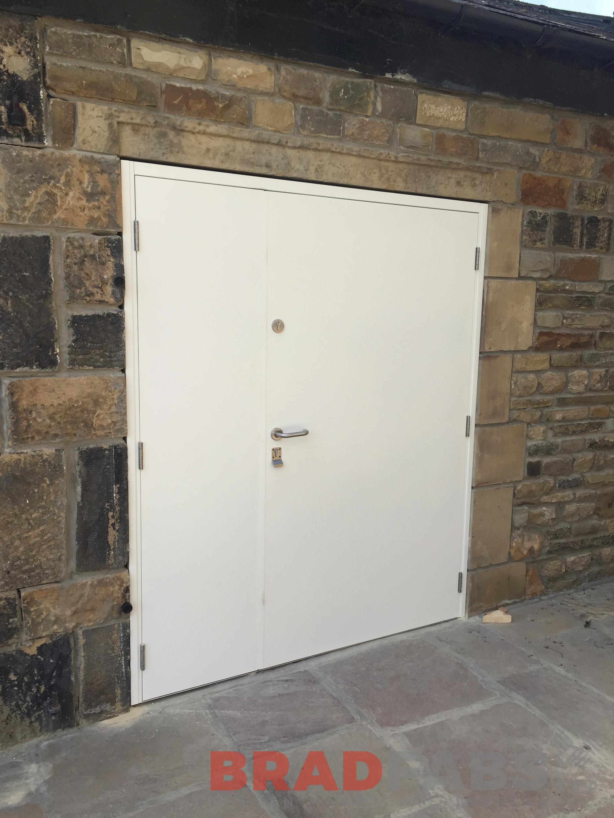 Domestic Steel Door