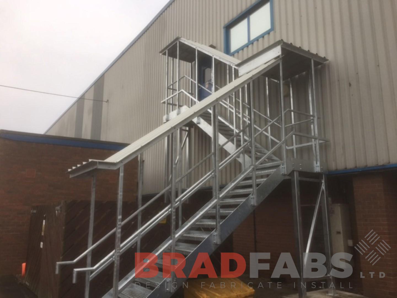 Steel Fabricators Of Balconies Staircases Galvanised Dog