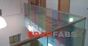 High Specification Stainless Balustrade for Girlington Health Centre in Bradford.