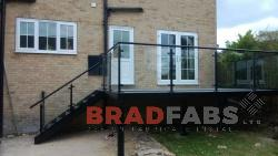 BRADFABS made this balcony staircase and platform.