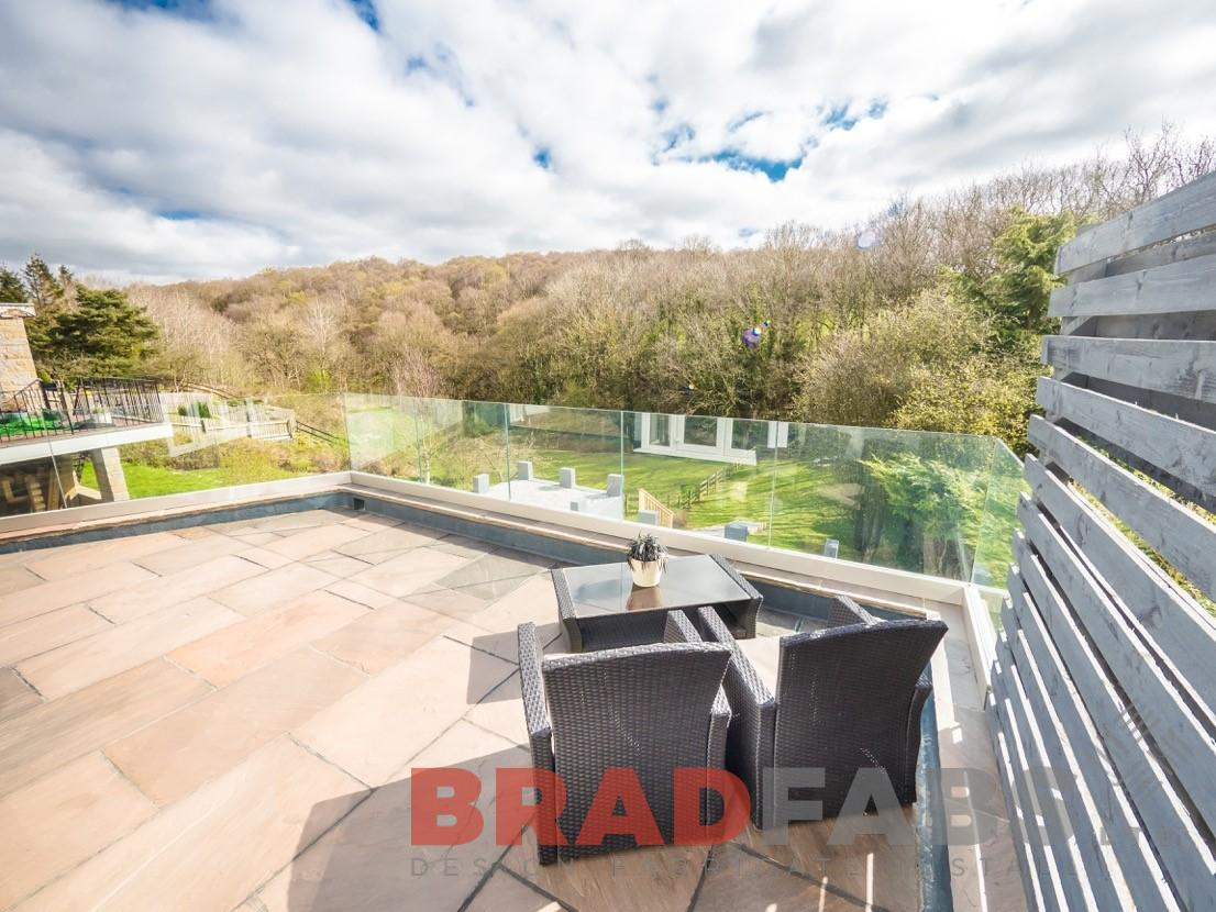Patio Glass Balustrade - Yorkshire Based