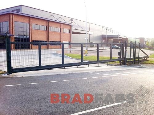 Mild steel, galvanised and powder coated gates by Bradfabs