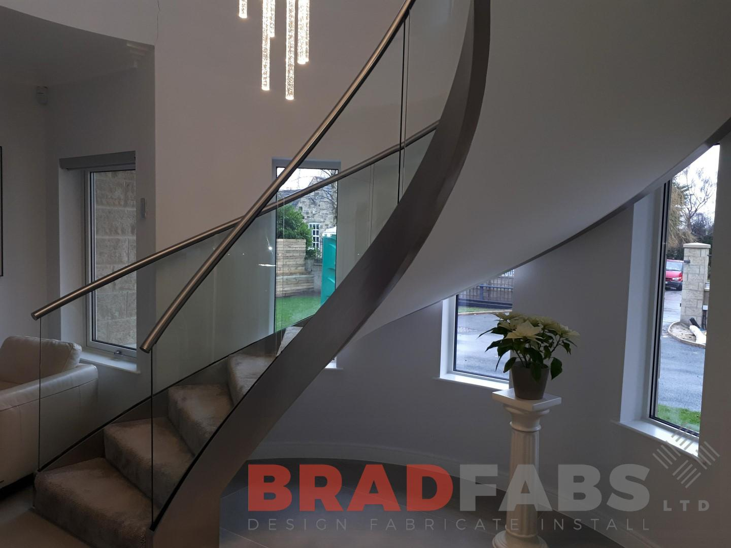 Bradfabs are experts in Helix staircases