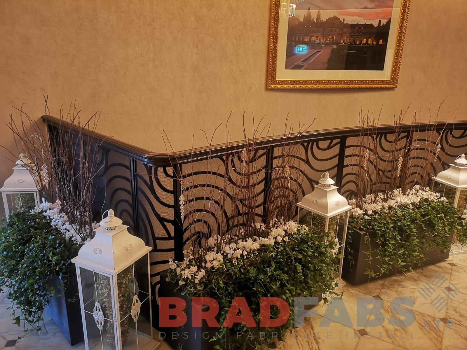 Mild steel powder coated decorative balustrade