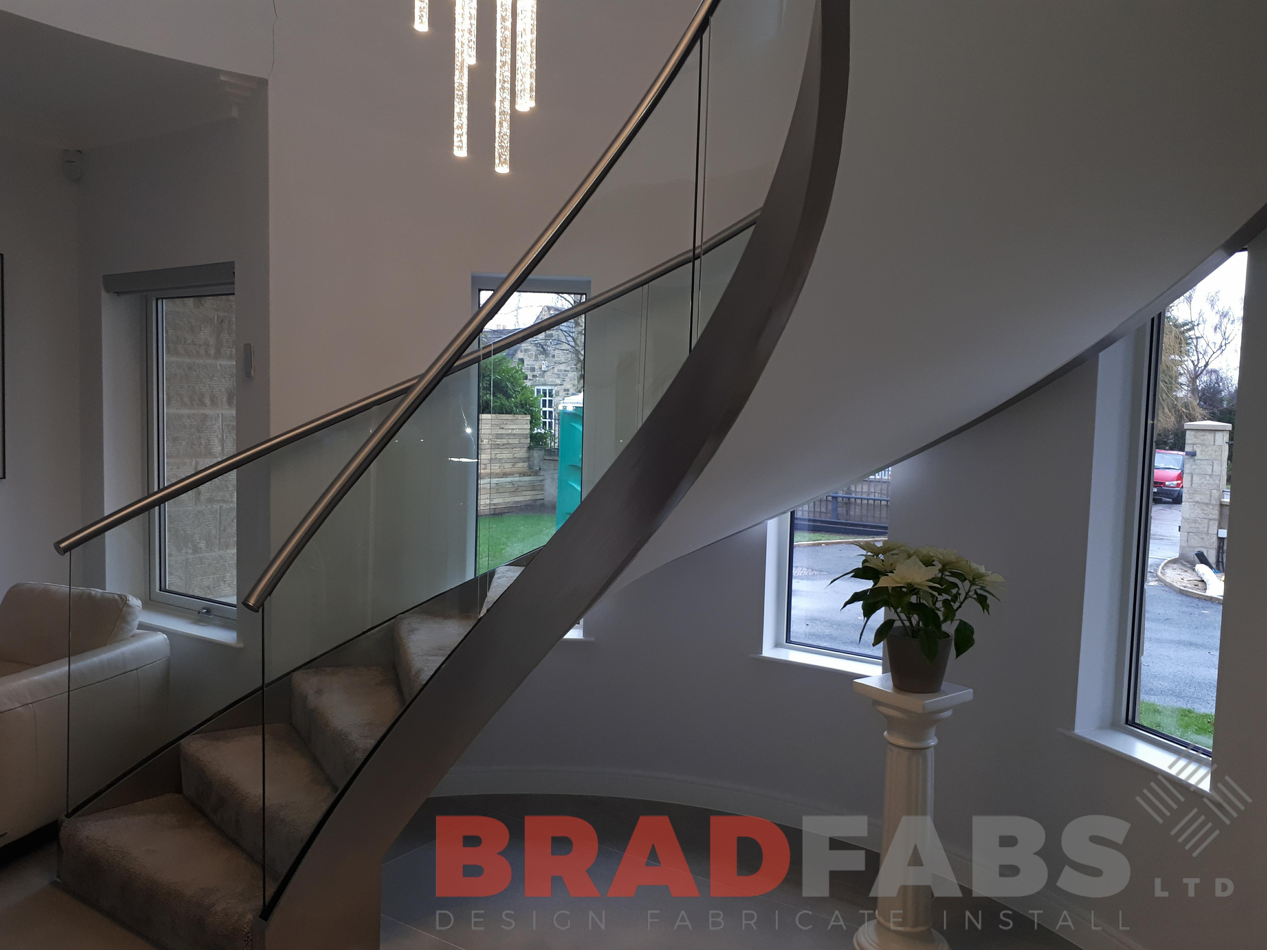 Helix and Curved Staircases