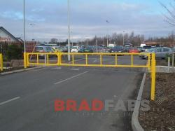 barriers installed and supplied by Bradfabs