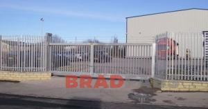 Gates supplied and installed by Bradfabs