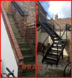 bradfabs are capable of making any one of fire escape