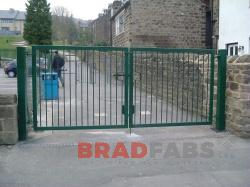 Bradfabs are experts in metal gates