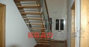 Domestic high quality Staircase installled in Bradford, West Yorkshire