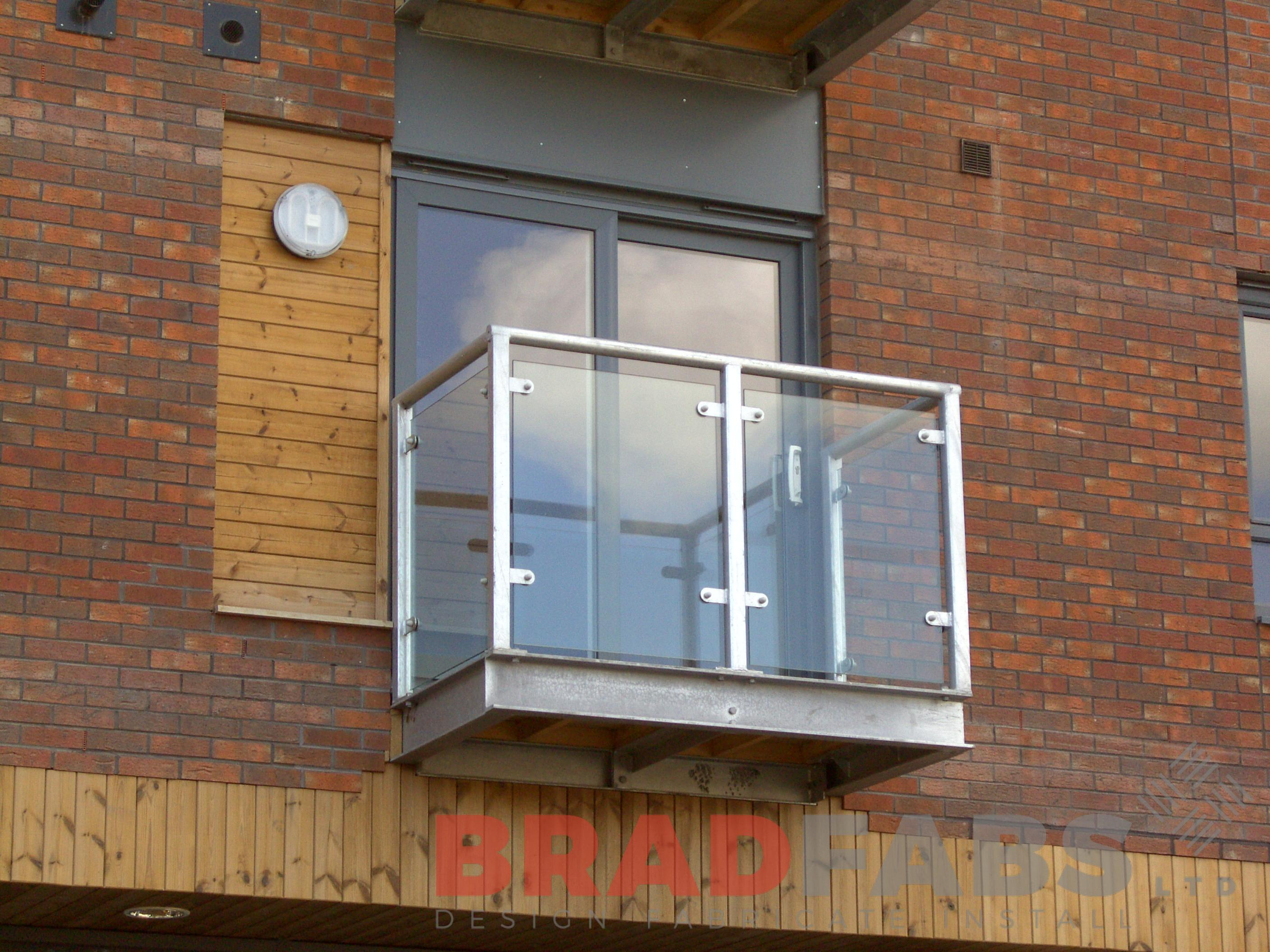 High Quanity Balconies fabricated by Bradfabs in England