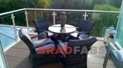 Unique balcony any type can be designed and manufactured by Bradfabs