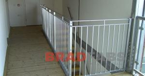 hand railings, steel hand rail, mild steel railings, galvanized railings