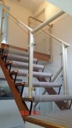 Balustrade to Match Timber Staircase.