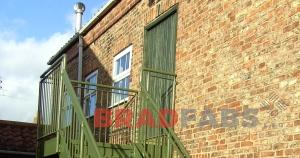 Fire Escape to meet Building Regulations