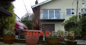 steel and glass balconies fabricated by bradfabs in england