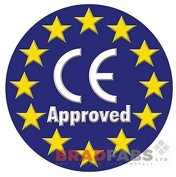 Bradfabs are CE approved