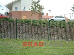 School railings installed by Bradfabs