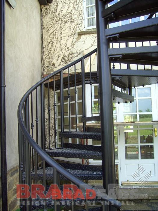 Steel Fabricators Of Balconies Staircases Spiral