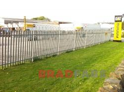 Palisade fencing installed in West Yorkshire