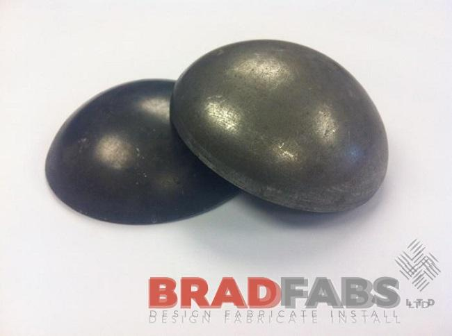 Steel Bollard Tops - Domed Caps a Stock Item by Bradfabs