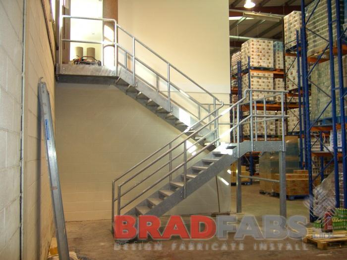 Designed And Fabricated Staircase By Bradfabs