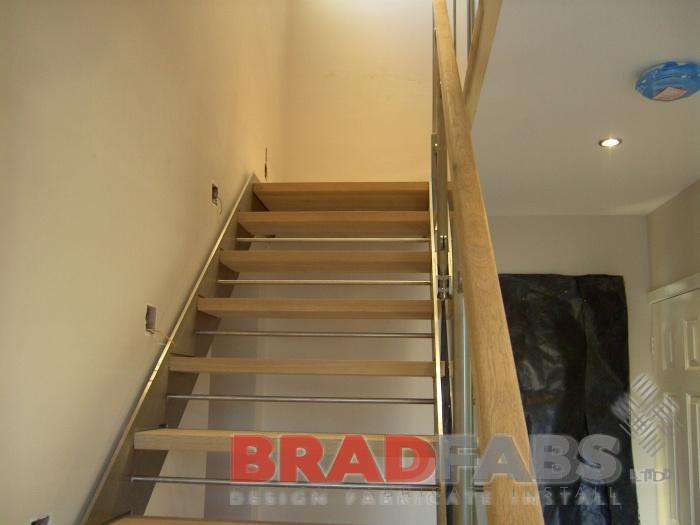 Bespoke Made Staircase In Bradford