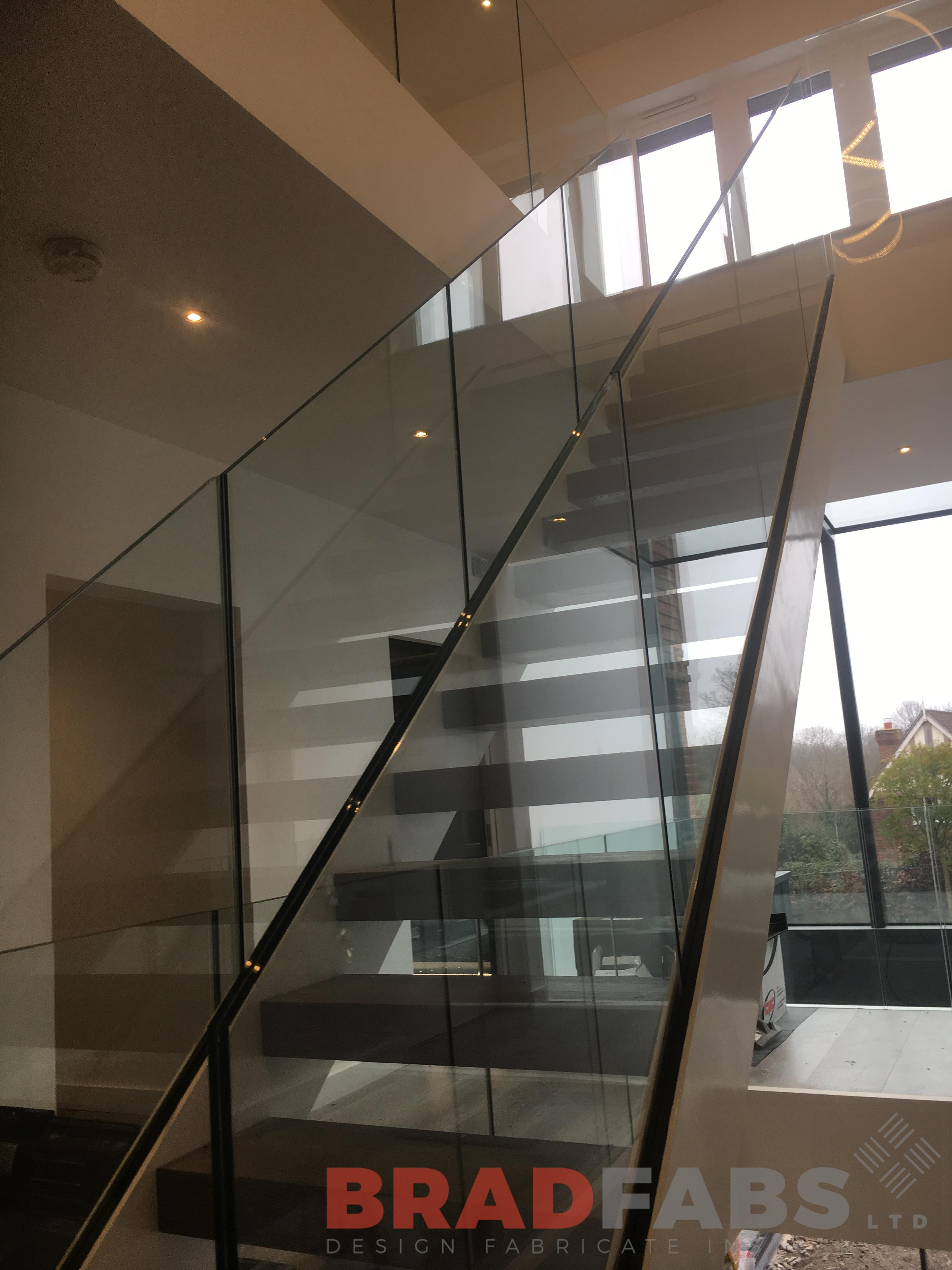 Steel Fabricators Of Balconies Staircases Straight Staircases