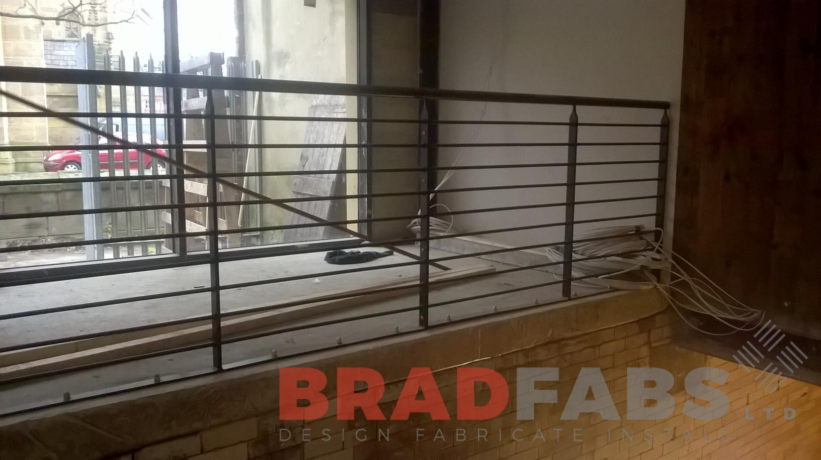 horizontal balustrade