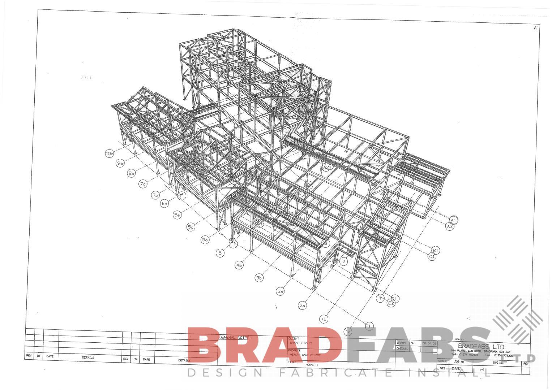 Steel Fabricators of Balconies, Staircases. steel erecting