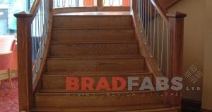 helix stairs mild steel manufactured by bradfabs
