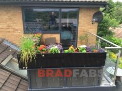 custom made balcony installed in Bury