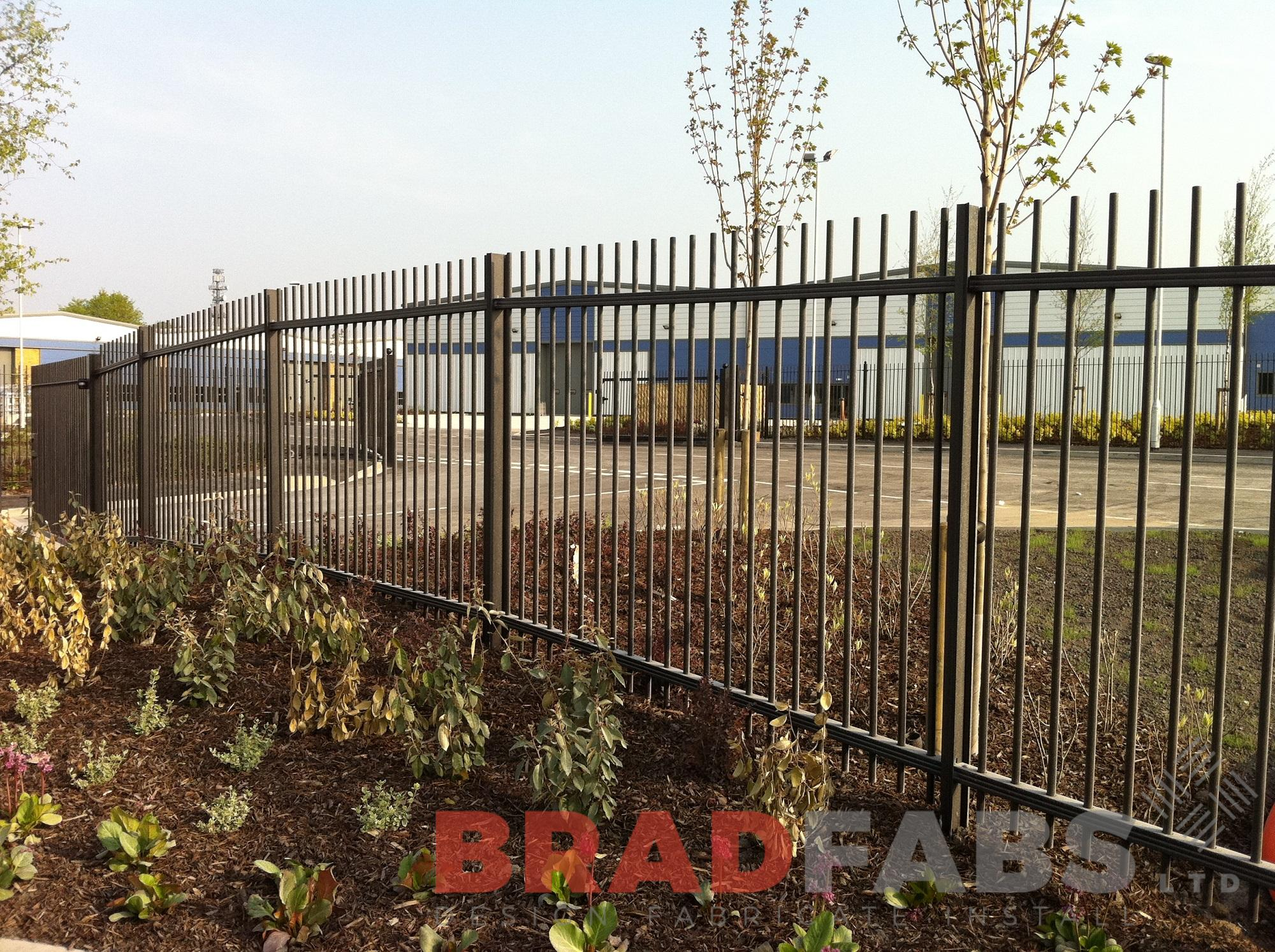 Bradfabs supply and install metal fencing