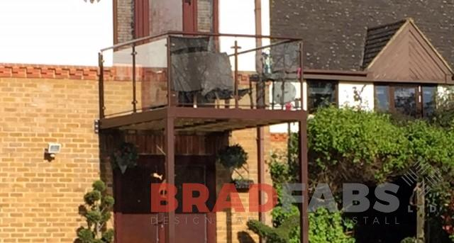 Any type of Balcony made by BRADFABS UK