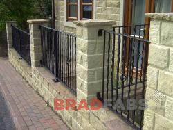 Residential railings by Bradfabs