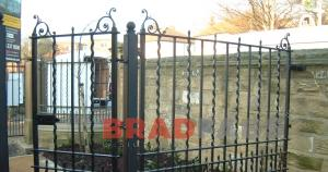 Bradfabs supplied and installed this railings