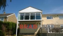 Balcony - installed in Huddersfield, West Yorkshire